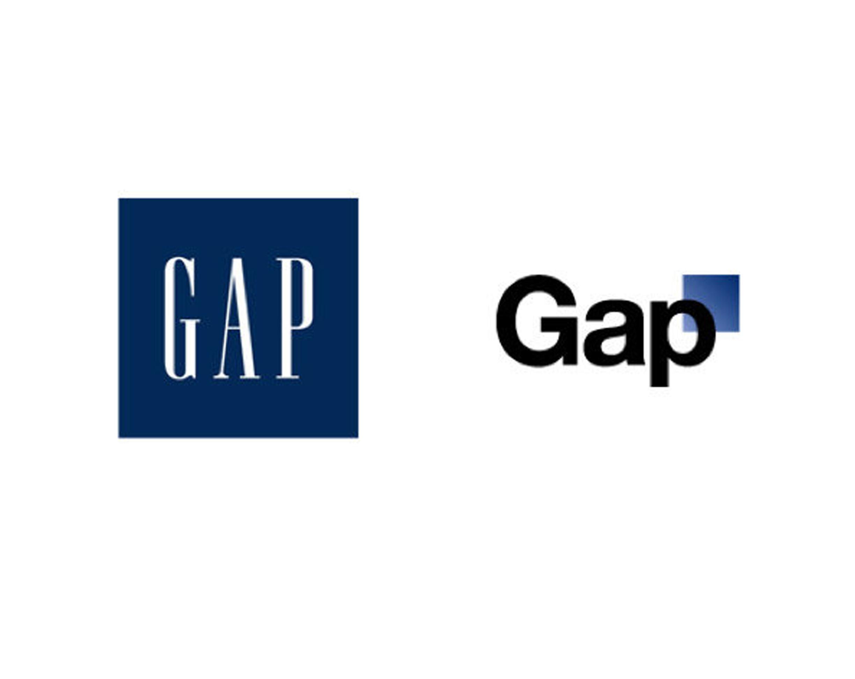 GAP change de logo, pour le meilleur… mais surtout  pour le pire !