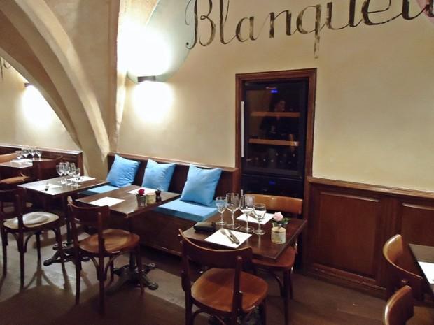 Banquette et blanquette