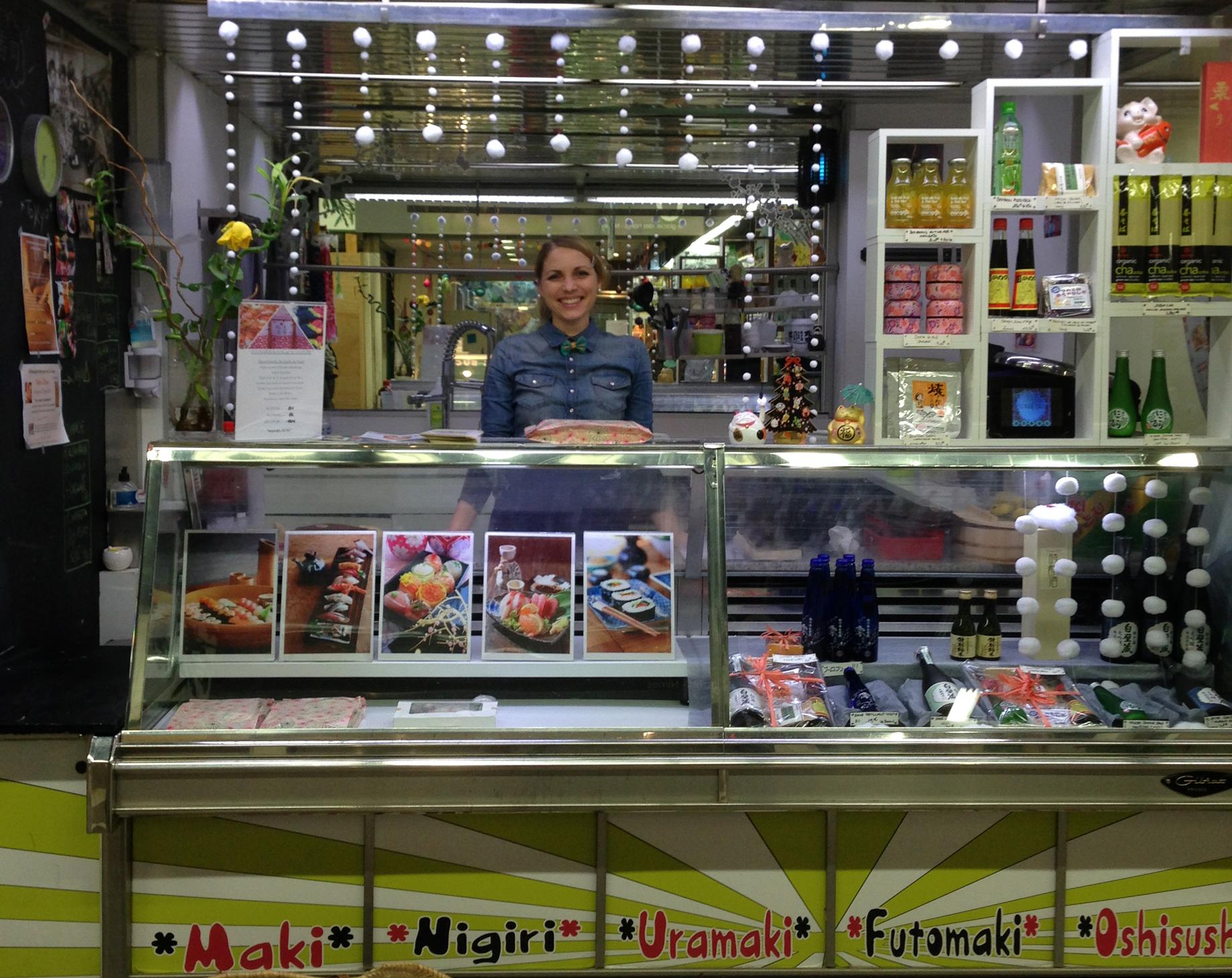 WAFU, créatrice de sushis et de bentos dans les Halles de NÎMES