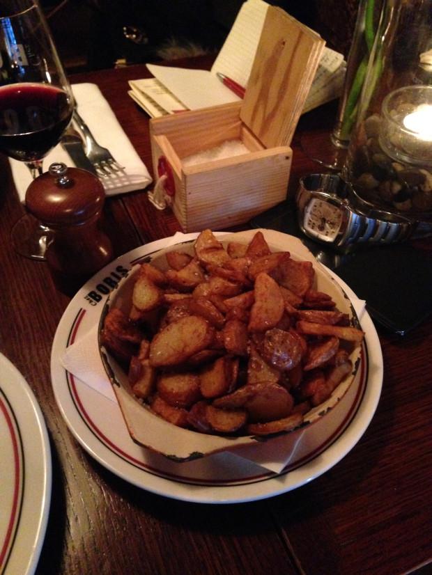 chez boris montpellier bistrot à vins restaurant frites