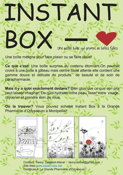 instant box - printemps 2014