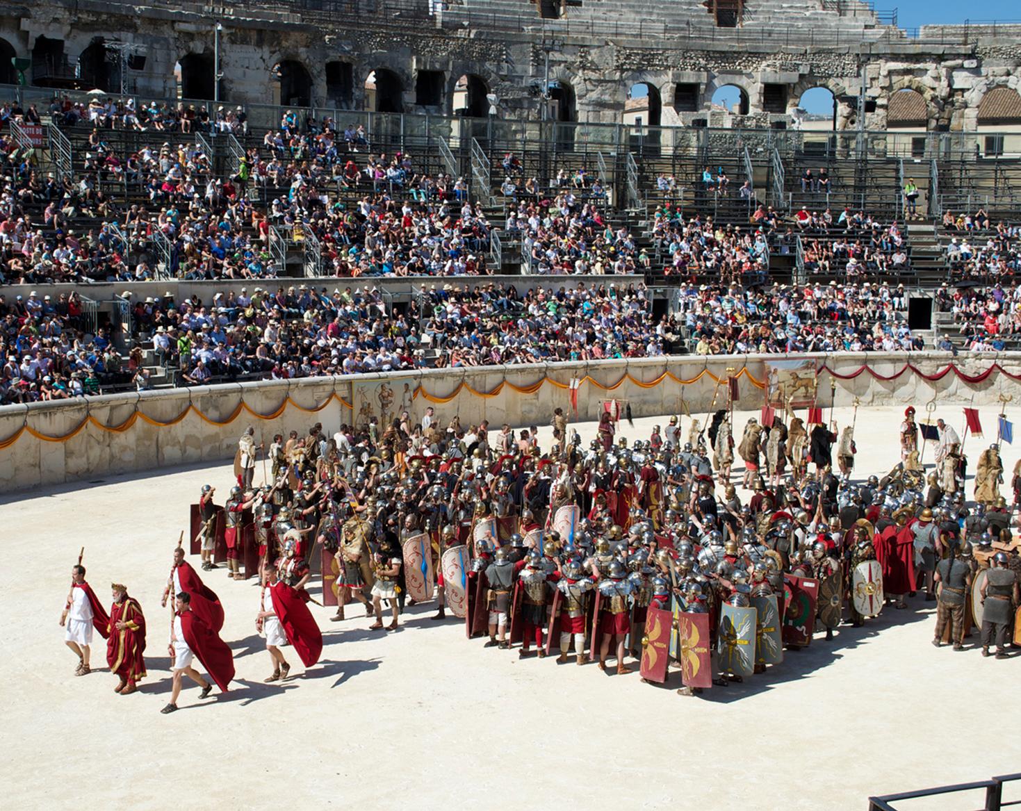 Les Grands Jeux Romains vus par ma Pitchoune