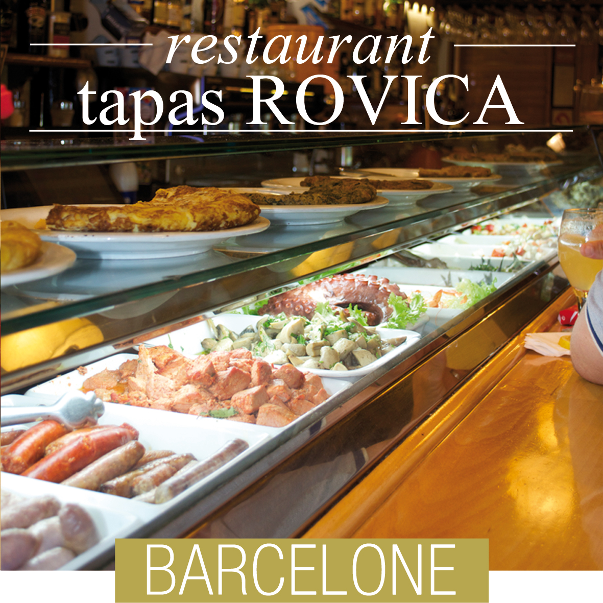 rovica tapas barcelone une pintade montpellier. Black Bedroom Furniture Sets. Home Design Ideas