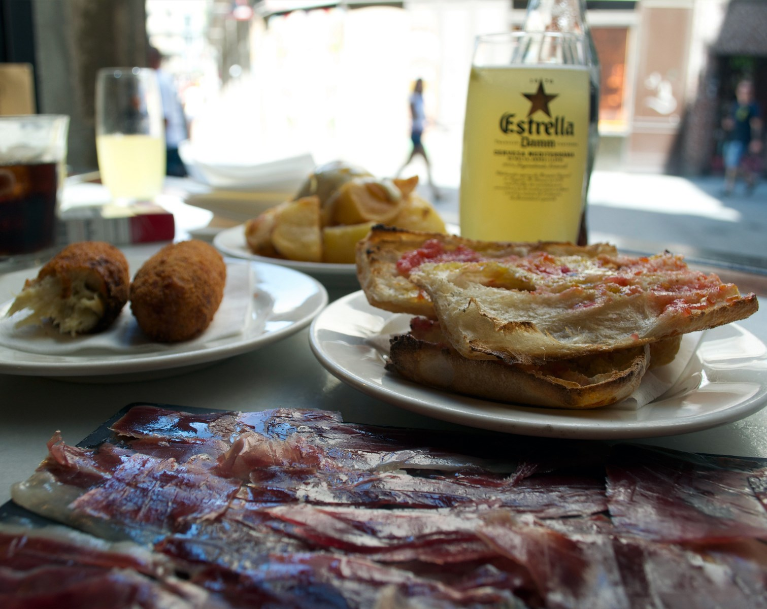 CENTRIC // Tapas à Barcelone