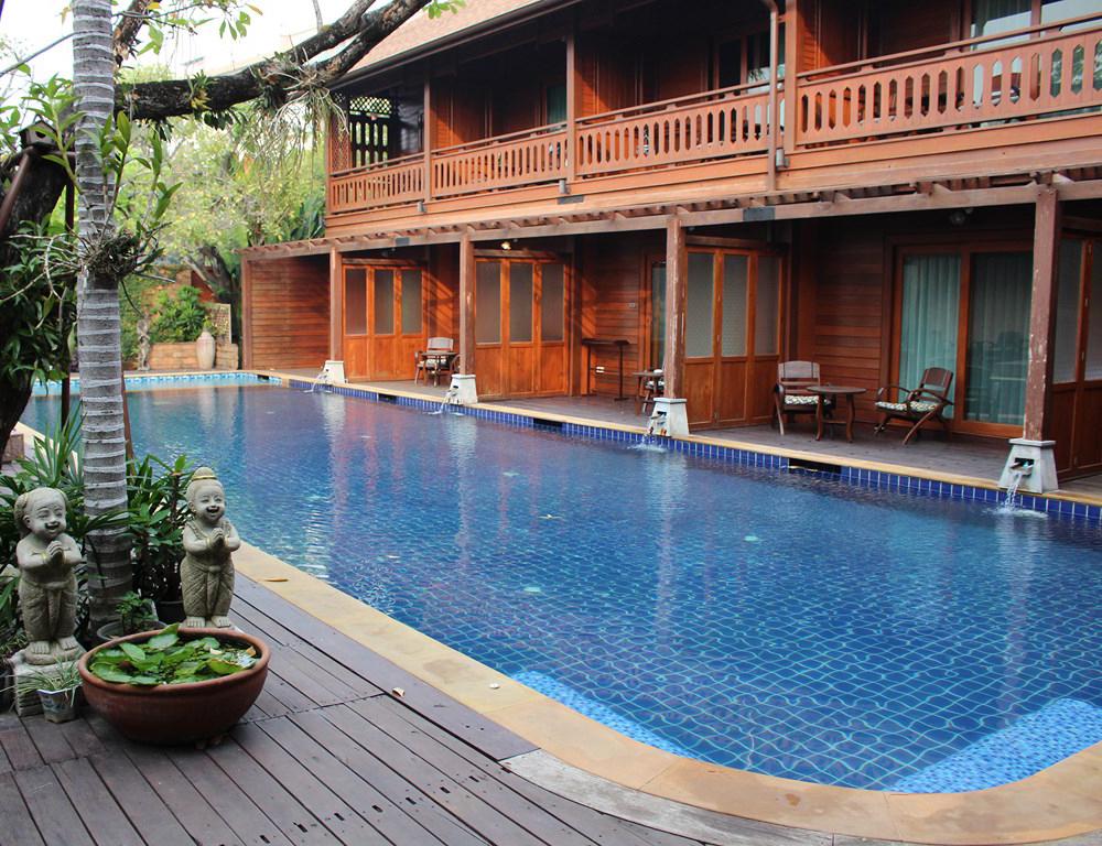 THAILANDE 2015 // Hôtel Baan U Sabai House à CHIANG MAI
