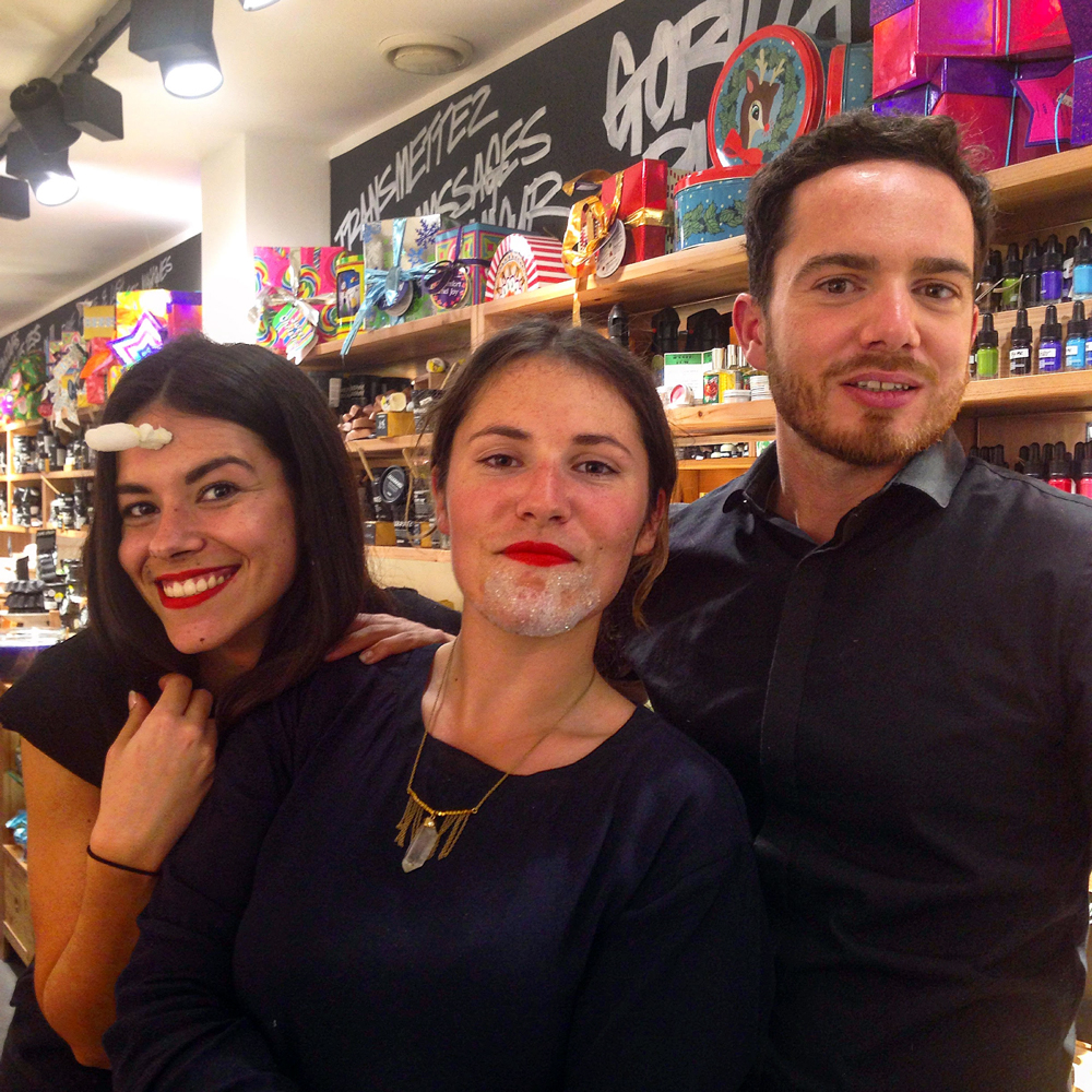 LUSH BLOG PARTY  // collection Noël 2015