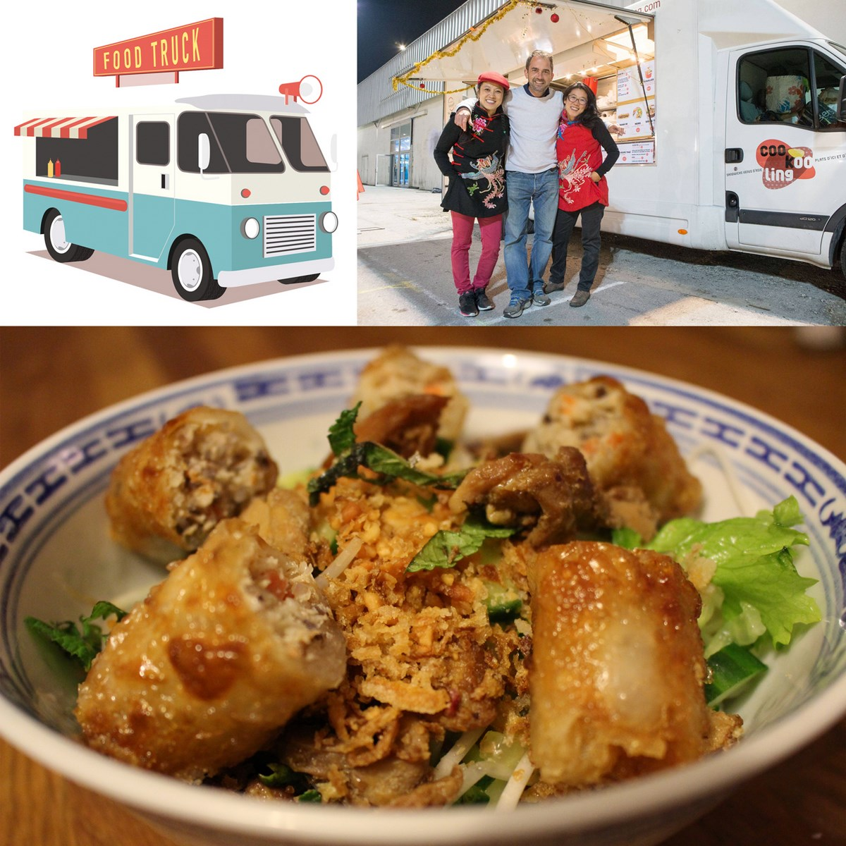 COOKOOLING // Le Food Truck aux saveurs d'Asie