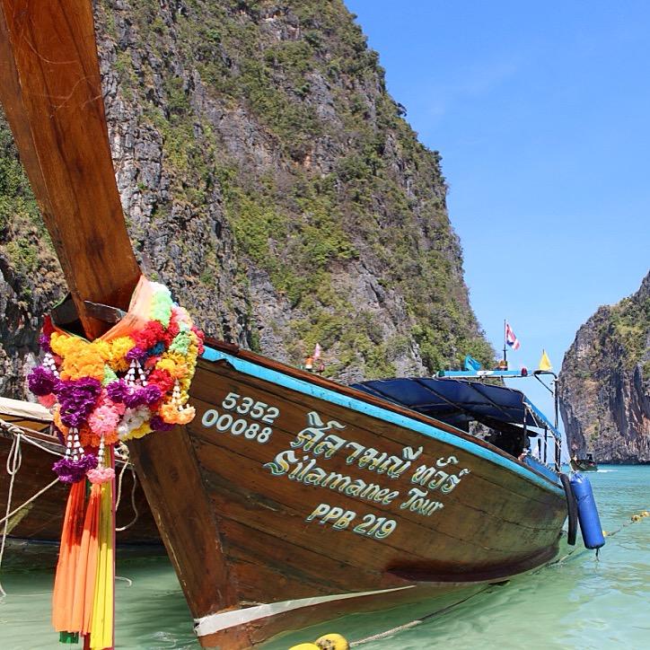 Thaïlande 2016 // KOH PHI PHI, Tour de l'île et Snorkeling à Phi Phi Ley