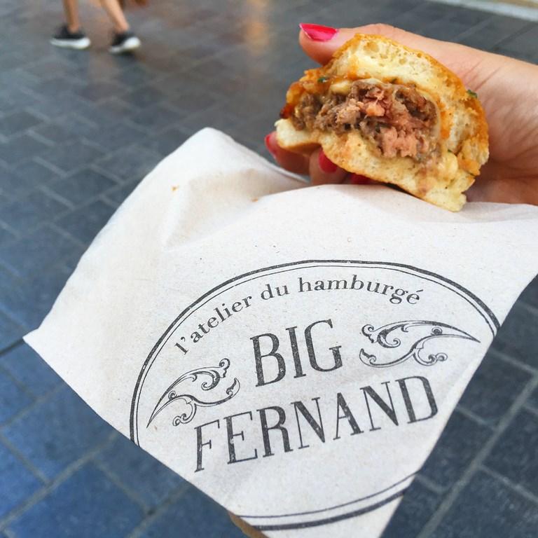 BIG FERNAND // le «Hamburgé» made in France débarque à Montpellier