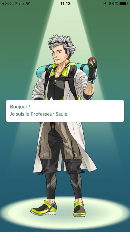 Professeur SAUL