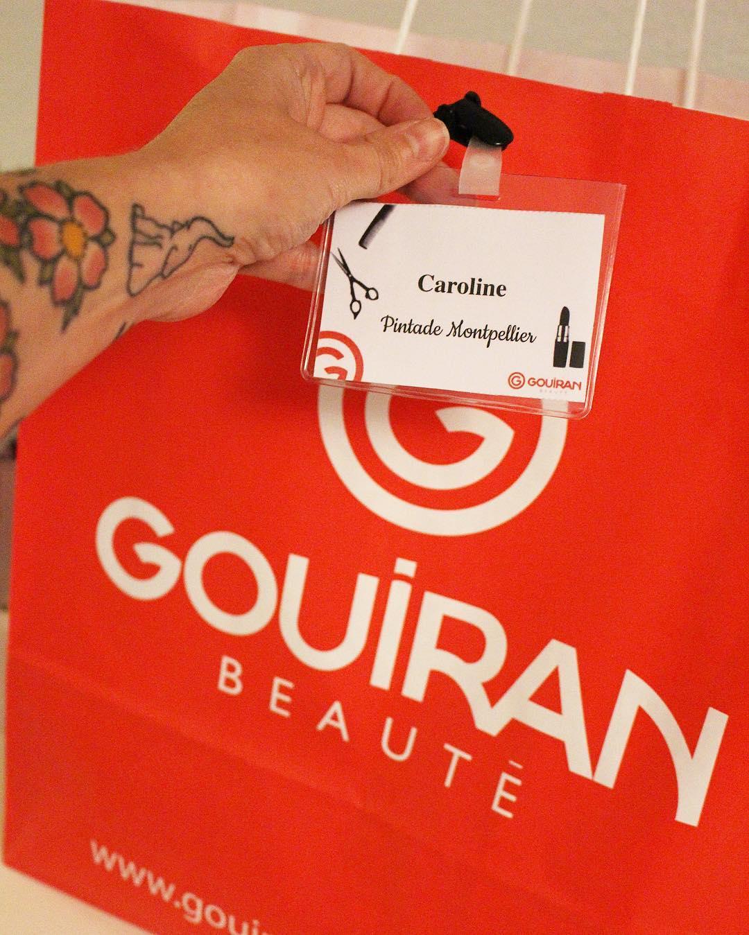 Encore bien gâtée ? à la #gouiranparty ! Au programme : présentation de @gouiran_beaute (marque montpelliéraine) et de ses nouveaux produits #beautélive ? Atelier création d'un masque pour les cheveux ?? atelier nail art ?? atelier coiffure  ____________ #gouiran #gouiranbeaute #montpellier #beauty #blogbeaute #blog #gouiranmontpellier #beautelive #blogparty