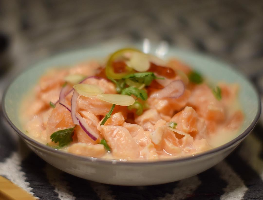 My precious... en plus des sushis ? ils ont des ceviches à tomber ?? ce soir je teste @cotesushi_france ?? enfin de bons sushis à Montpellier ... mais pas que! Car ce sont des spécialités japonaises ET péruviennes ?? ?? . . . ? -10% avec le code promo : PINTADE10  _____________ #cotesushi #sushi #japanfood #peruvianfood #blogfood #foodblog #pintademontpellier #montpellier #instafood #foodlover #soup #miso #ceviche #maki #california #nikkei #nikkeifromperu #cotesushimontpellier #nikkeifood #codepromo