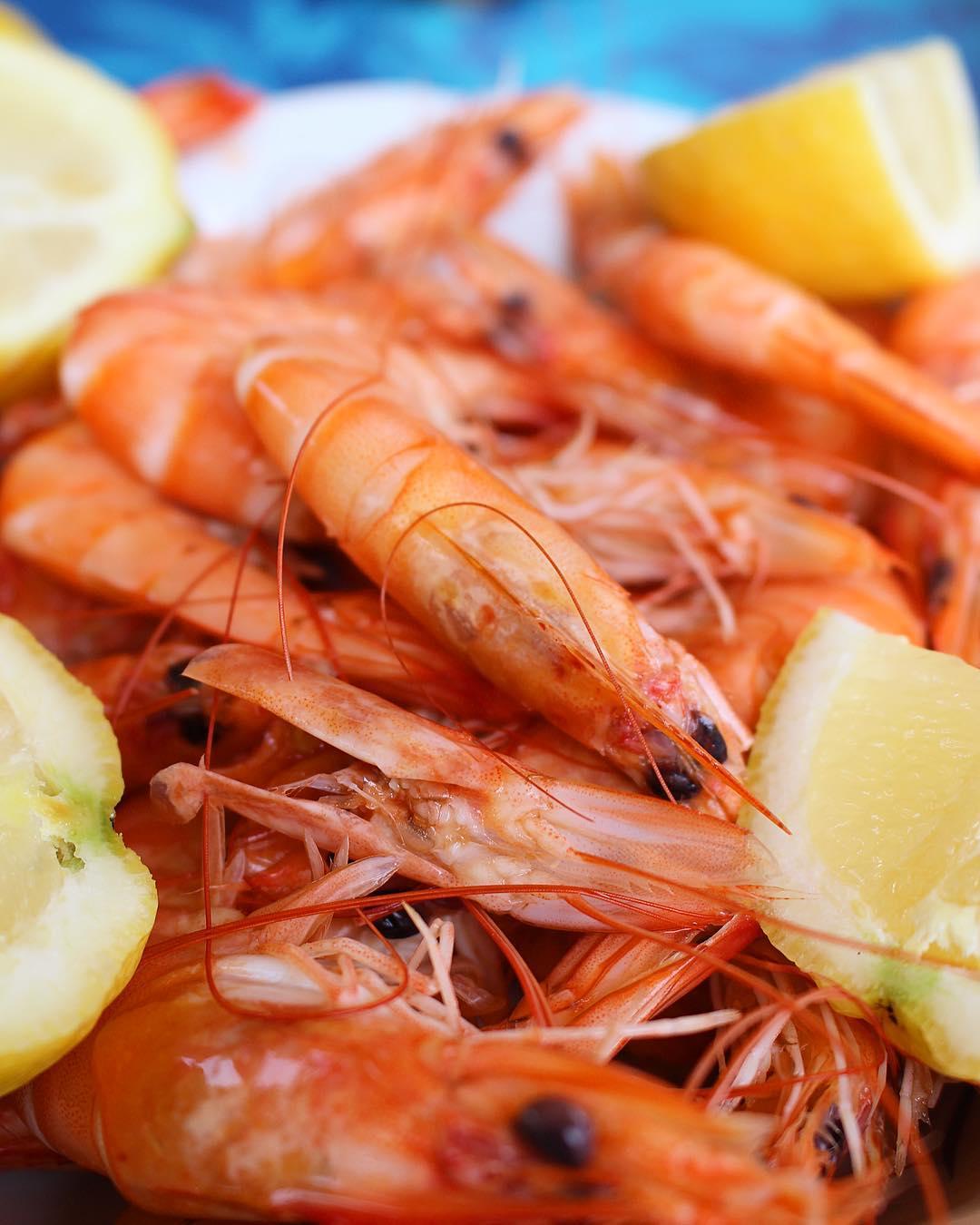I ❤️? ... forever !! _________________ #food #fooding #foodlover #blogfood #foodblogger #crevettes #shrimps #montpellier #pintademontpellier