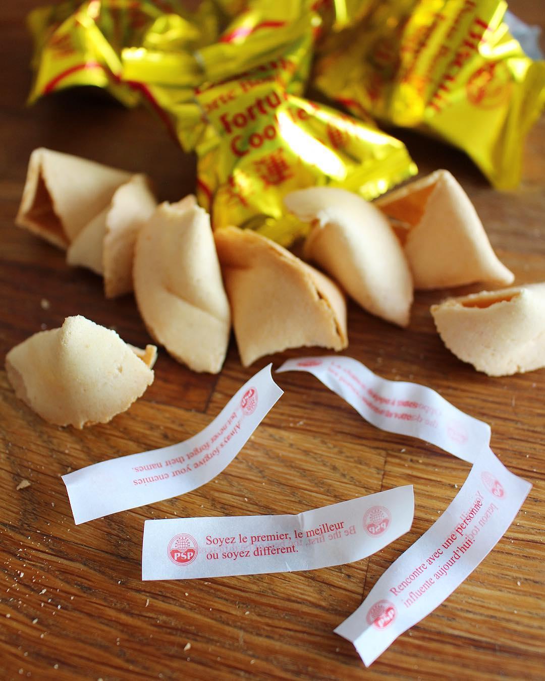Ppppfff tous nul !! ?? Ça me rappelle les Kinders j'en ai bouffé un paquet pour avoir enfin un bon jouet... Bin là peau d'zob ! NAda ! ? I ' LL BE BACK ?? ______________ #lucky #cookies #fortunecookie #montpellier #pintademontpellier #asianfood #chinesefood #tradition
