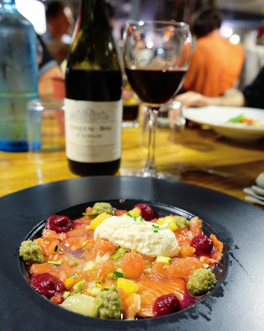〰 S A U M O N ?? 〰 . . ➕ LE J • restaurant de Plage à l'année . ? Carnon (34)?? ??? Bientôt Article sur le blog  _______________ #lejcarnon #restaurant #food #foodlover #blogfood #foodporn #foodstagram #gastronomy #cooking #foodphotography #montpellier #carnon #pintademontpellier #seiche #beachlife