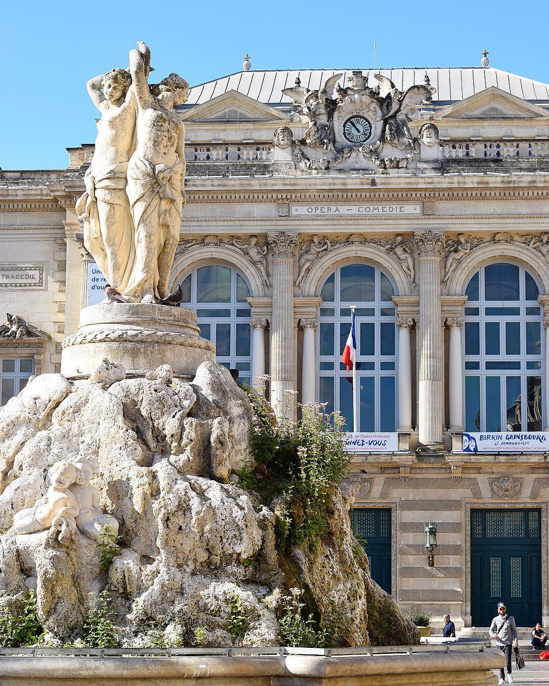 Le bonheur de vivre à Montpellier ? La semaine prochaine je vais à l'Opera pour voir