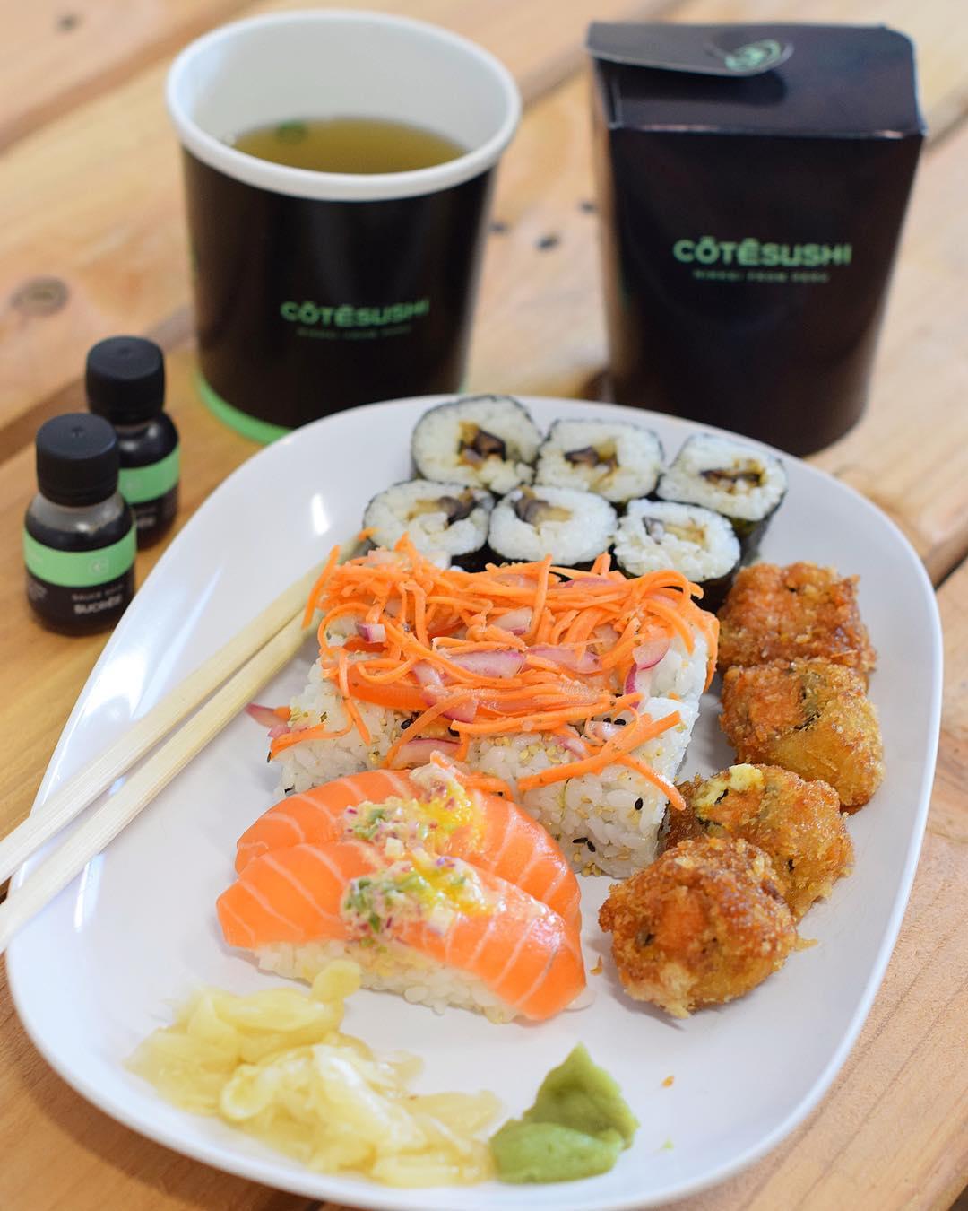 〰 PLAISIR SOLITAIRE 〰 . . ?? Avec ce temps, c'est un pur plaisir de remanger les soupes Miso. Merci @cotesushi_france de penser à moi ??? . . . ?-10% avec le code promo : PINTADE10 . ? offre valable partout en France ?? . . ➕ COTE SUSHI •  Restaurant • Spécialités japonaises ET péruviennes ???? . ??? Article sur le blog  _____________________ #cotesushi #sushi #japanfood #peruvianfood #blogfood #foodblog #pintademontpellier #montpellier #instafood #foodlover #soup #miso #ceviche #maki #california #nikkei #nikkeifromperu #salmon #cotesushimontpellier #nikkeifood #codepromo #nikkeiisthenewfood