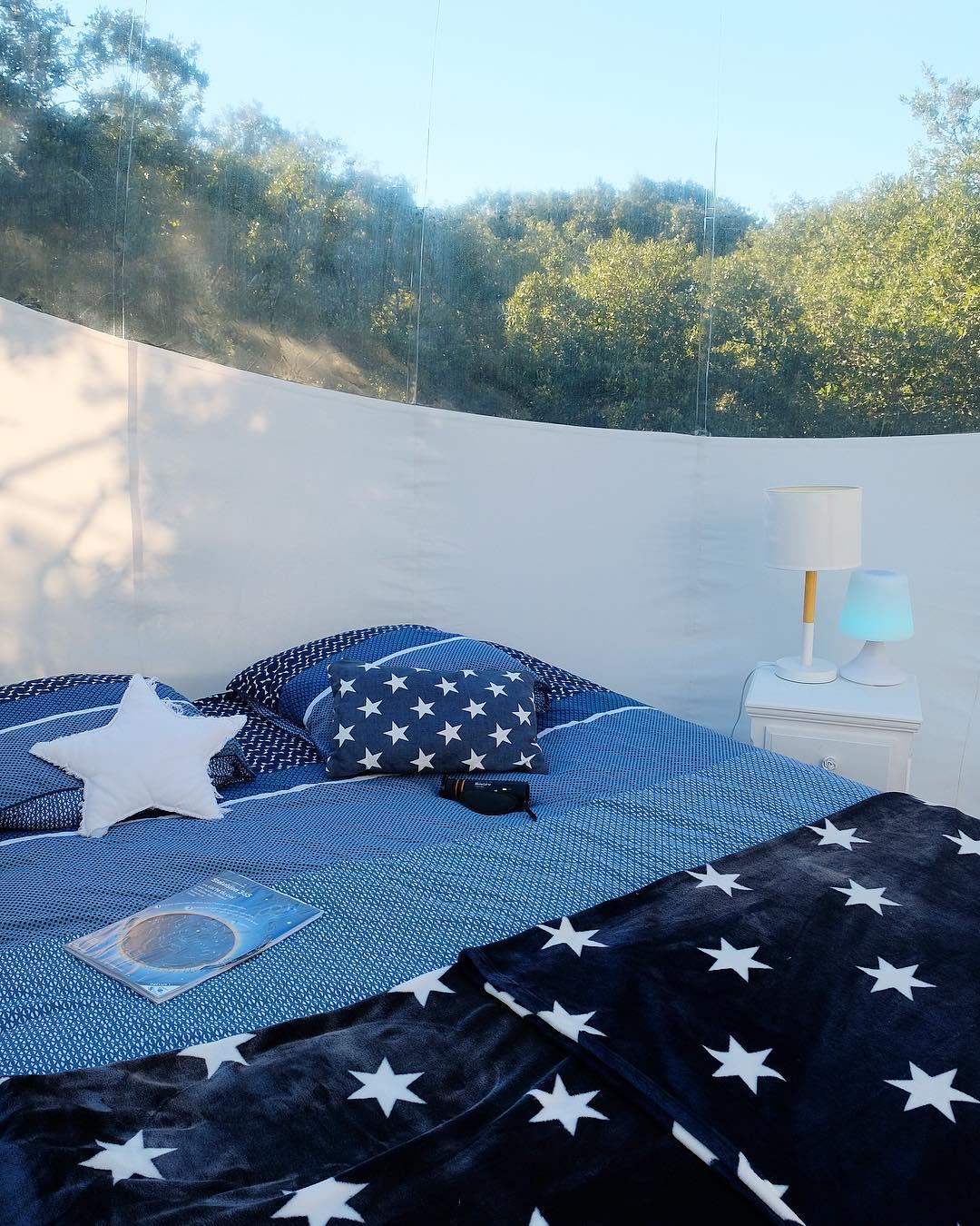 Dormir la tête dans les étoiles ⭐️ ... et j'ai même vu la Grande Ourse ??⛺️ . .  C'est possible à seulement 25 min de Montpellier, 5 min de Saint Guilhem le Désert, et loin de la pollution lumineuse pour une nuit à des millions d'Années Lumières....sur le site du plus grand Observatoire Astronomique Amateur de France ? . . ➕ASTRONARIUM • logement insolite en tente bulle ?Aniane (34) _____ #astronarium #aniane #nuitinsolite #hebergement #hotel #astronomie #astrospace #observatoire#occitanie #travel #blogtravel #travelinsolite #voyage #blogvoyage #tentebulle #bulle #montpellier #pintademontpellier